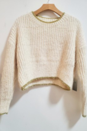 Kindred Mercantile  Crop Knit Sweater - Product Mini Image