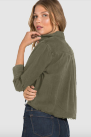 Bella Dahl Crop Military Jacket - Front full body