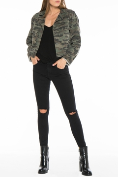 60b365886c ... Bella Dahl Crop Military Jacket - Product List Placeholder Image