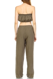 hers and mine Crop Pant Set - Back cropped