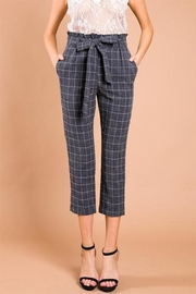 A Peach Crop Plaid Pants - Product Mini Image