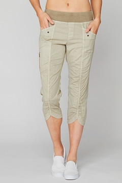 XCVI Wearables Crop Rouched Pant - Alternate List Image