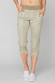 XCVI Wearables Crop Rouched Pant - Product Mini Image