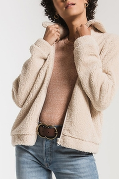 Shoptiques Product: Crop Sherpa Jacket