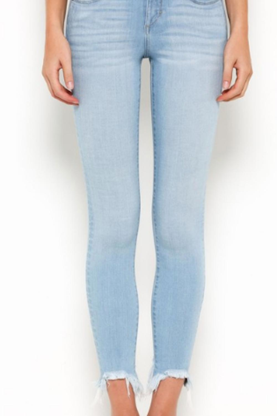 Hidden Jeans Crop Skinny Jean - Front Cropped Image