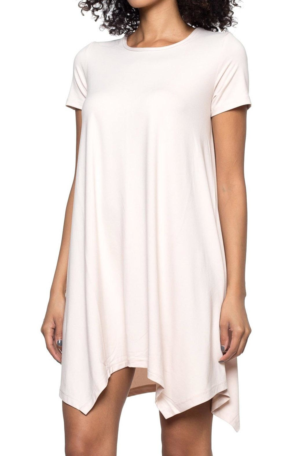 Capella Apparel Crop Sleeve Tunic - Side Cropped Image
