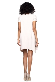 Capella Apparel Crop Sleeve Tunic - Front full body