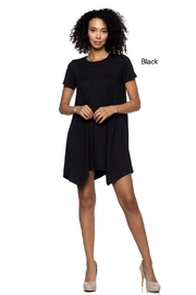 Capella Apparel Crop Sleeve Tunic - Front cropped