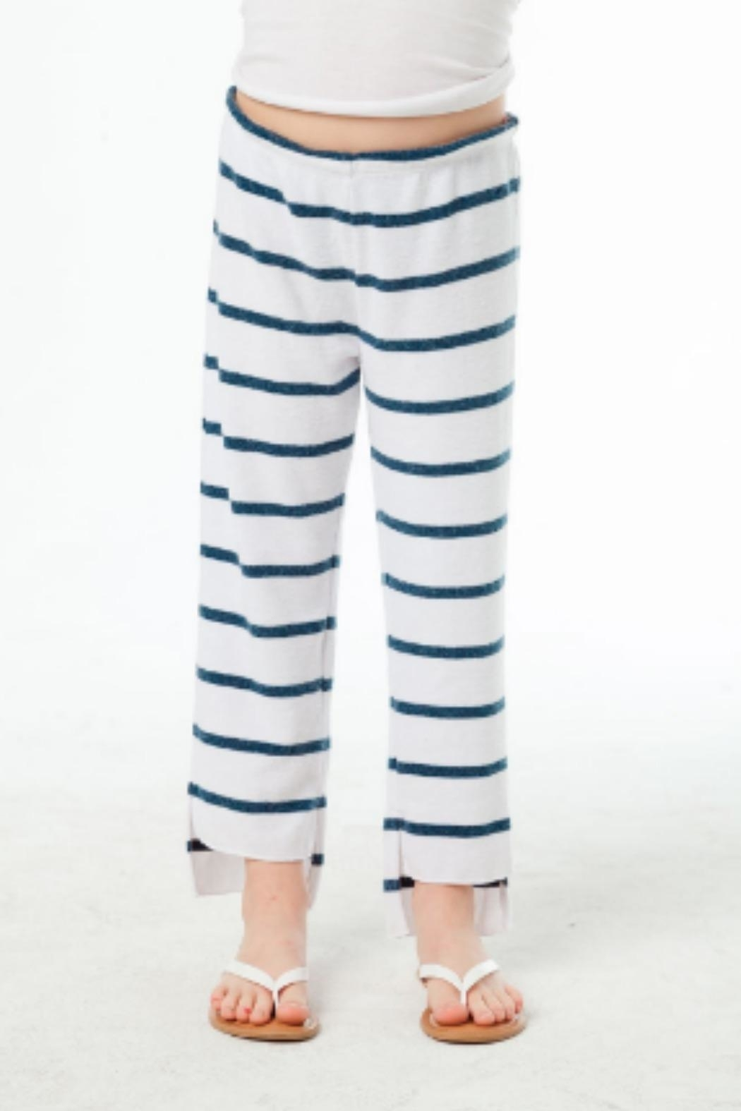 Chaser Crop Stripe Pant - Front Full Image