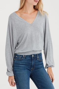 7 For all Mankind Crop Sweater - Product List Image