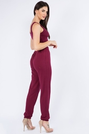 Bear Dance Crop Top and Lounge Pants Set - Back cropped