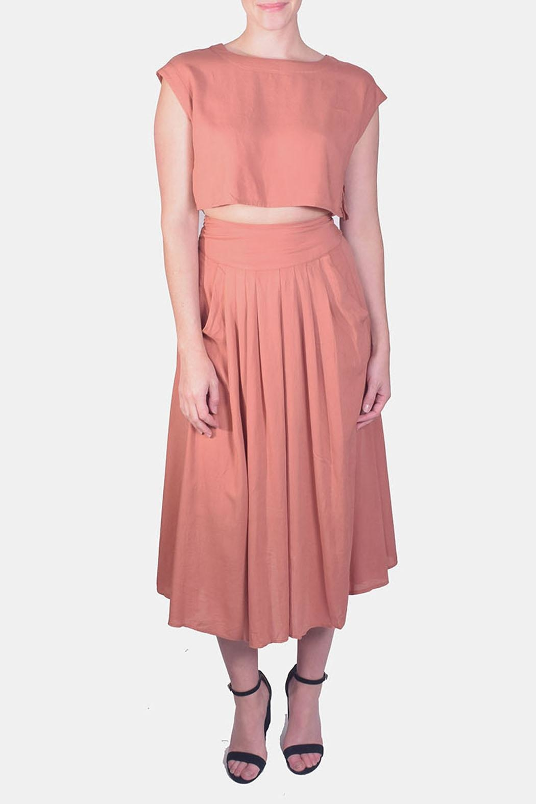Illa Illa Crop-Top Skirt Set - Main Image