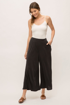 Mystree Cropped Ankle Pant Black - Product List Image
