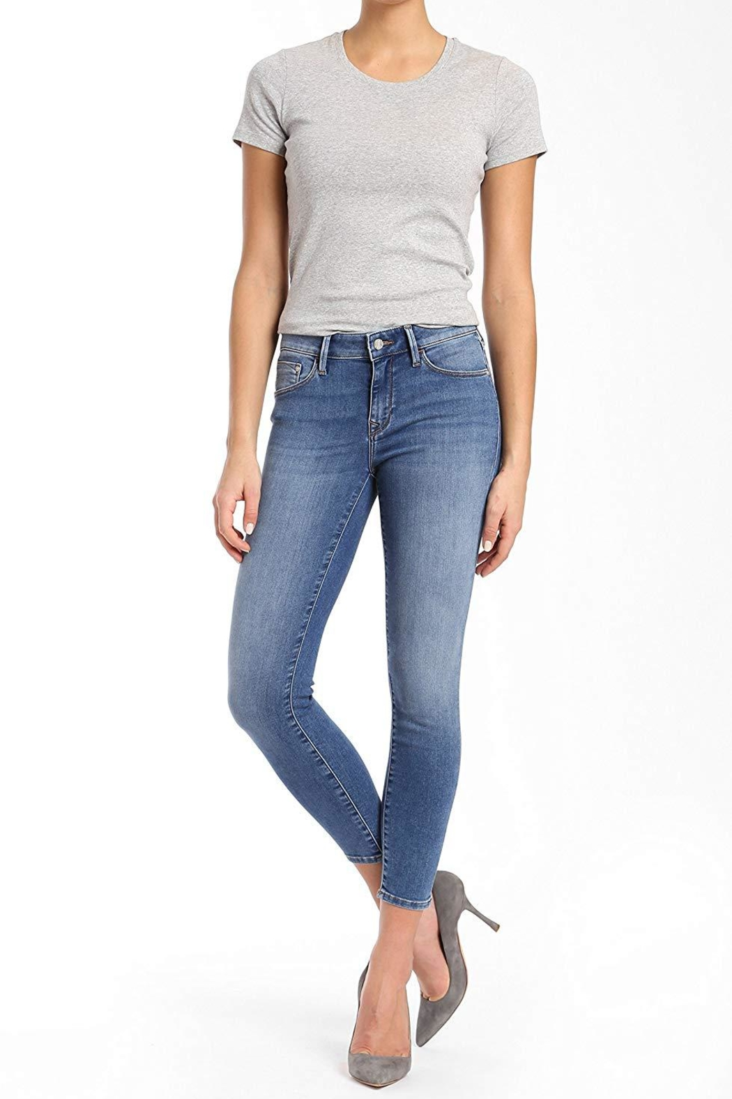 Mavi Jeans Cropped Ankle Skinny - Main Image