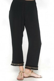 Isle Cropped Black Pants - Product Mini Image