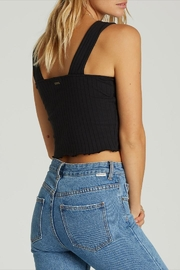 Billabong Cropped Button-Up Tank - Side cropped