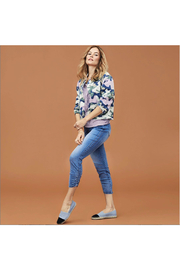 Tribal Jeans Cropped Camo Lightweight Jacket - Product Mini Image