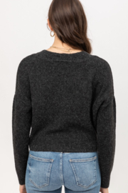 Love Tree Cropped Cardigan - Front full body