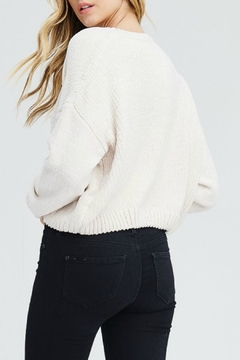 In Loom Cropped Chenille Sweater - Alternate List Image