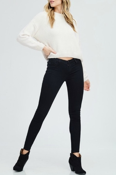 In Loom Cropped Chenille Sweater - Product List Image