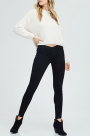 In Loom Cropped Chenille Sweater - Product Mini Image