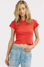 LaMade  Cropped Crew Tee - Front cropped