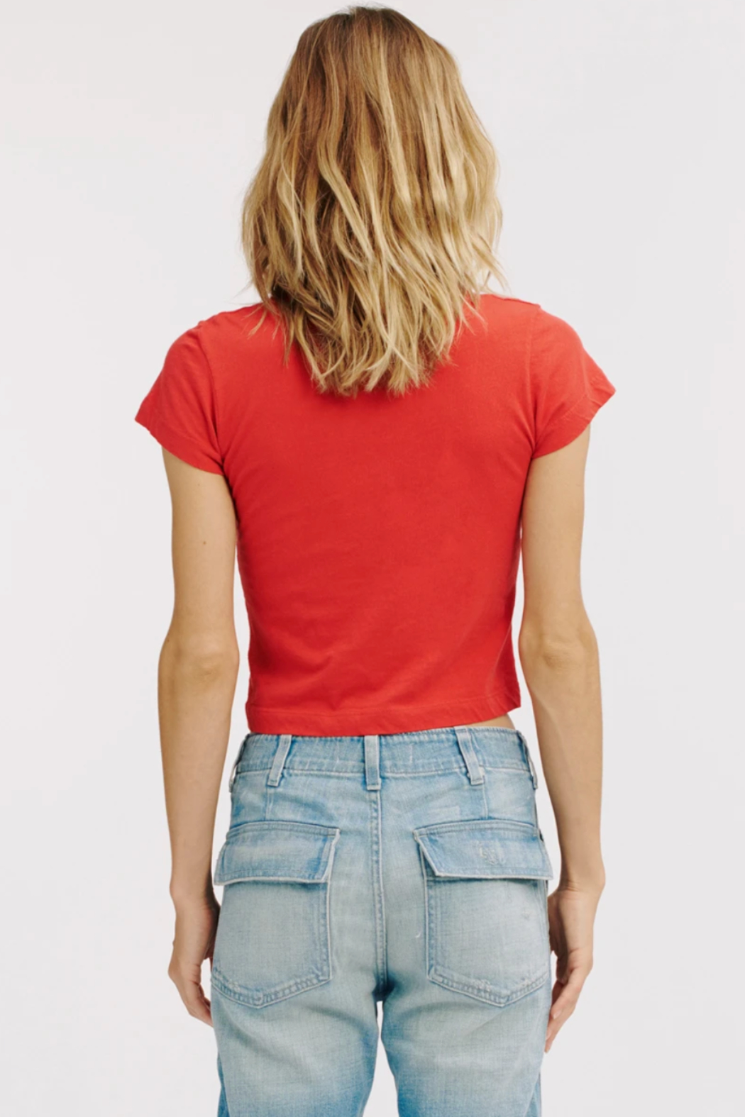 LaMade  Cropped Crew Tee - Side Cropped Image
