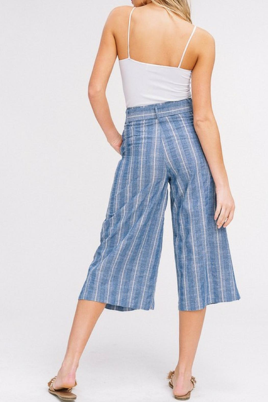Listicle Cropped Culottes - Side Cropped Image