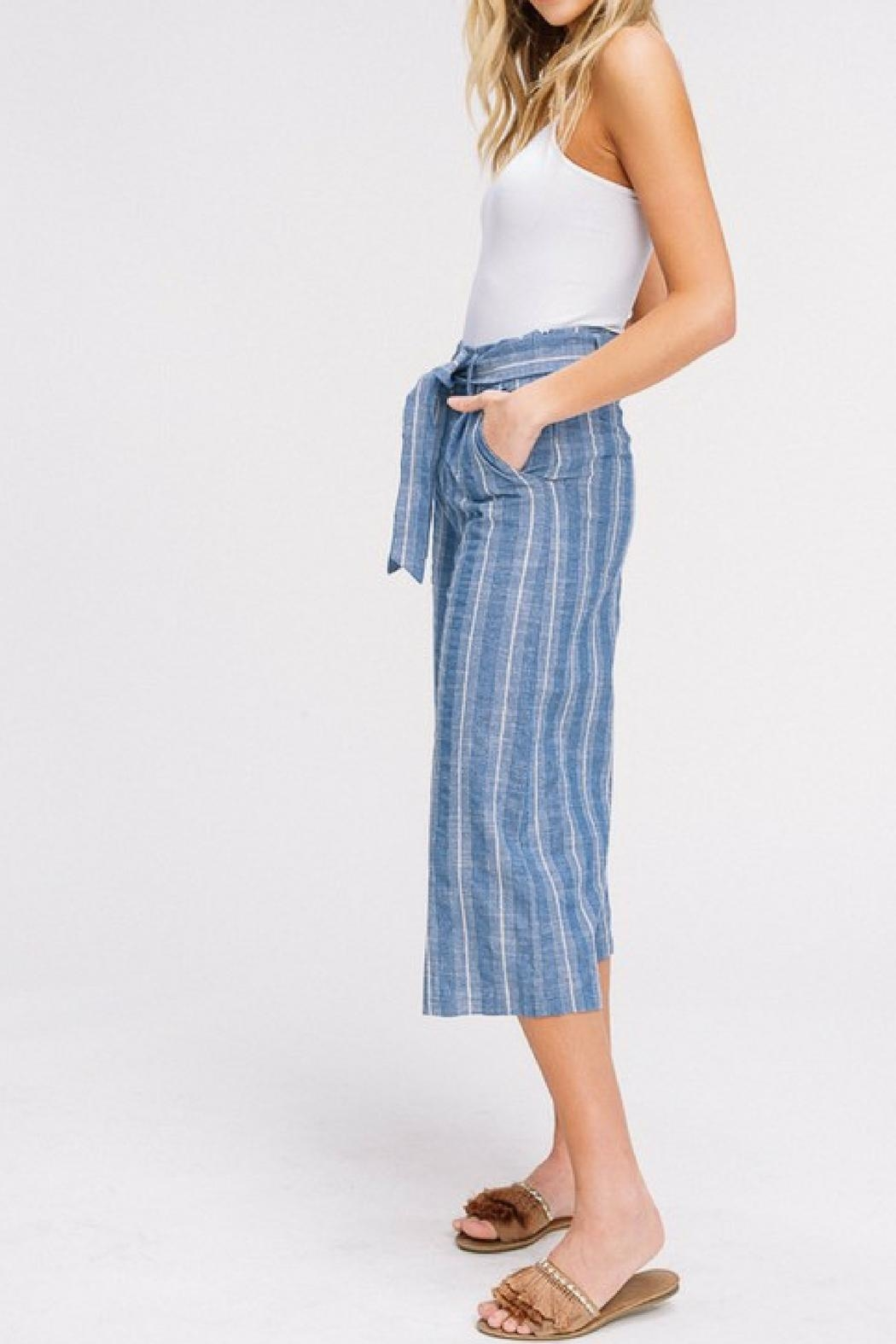 Listicle Cropped Culottes - Front Full Image
