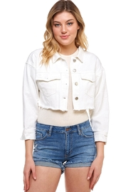 Comme USA Cropped Denim Jacket - Product Mini Image