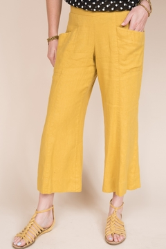 Ivy Jane  Cropped Draped Pleat Pant - Product List Image