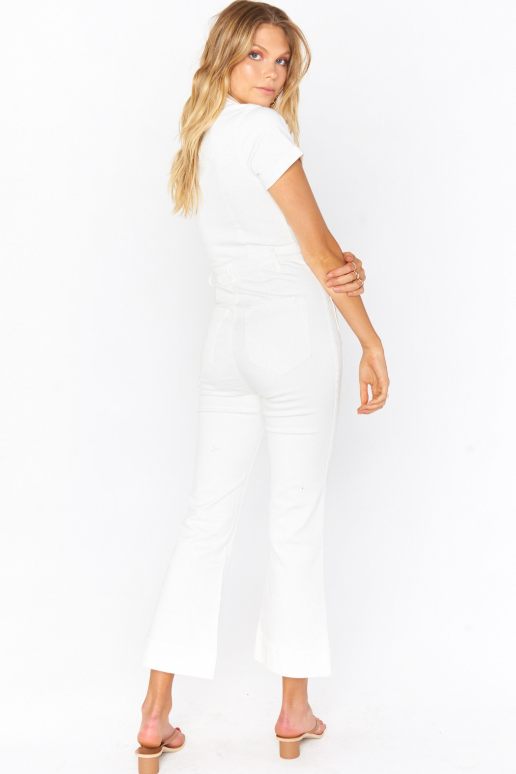 Show Me Your Mumu Cropped Everheart Jumpsuit - Side Cropped Image