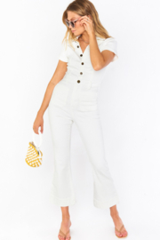 Show Me Your Mumu Cropped Everheart Jumpsuit - Front cropped