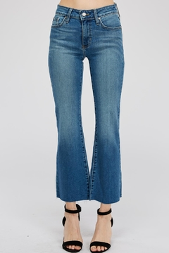 just black Cropped Fare Jean - Product List Image