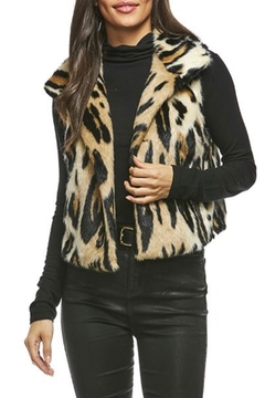 Fabulous Furs Faux Fur Cropped Vest - Product List Image