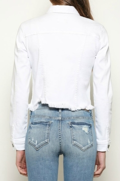 Hidden Jeans Cropped Fitted Jacket - Alternate List Image