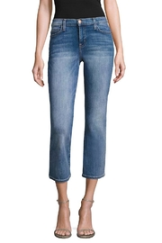 Current Elliott Cropped-Flair Jean - Front cropped