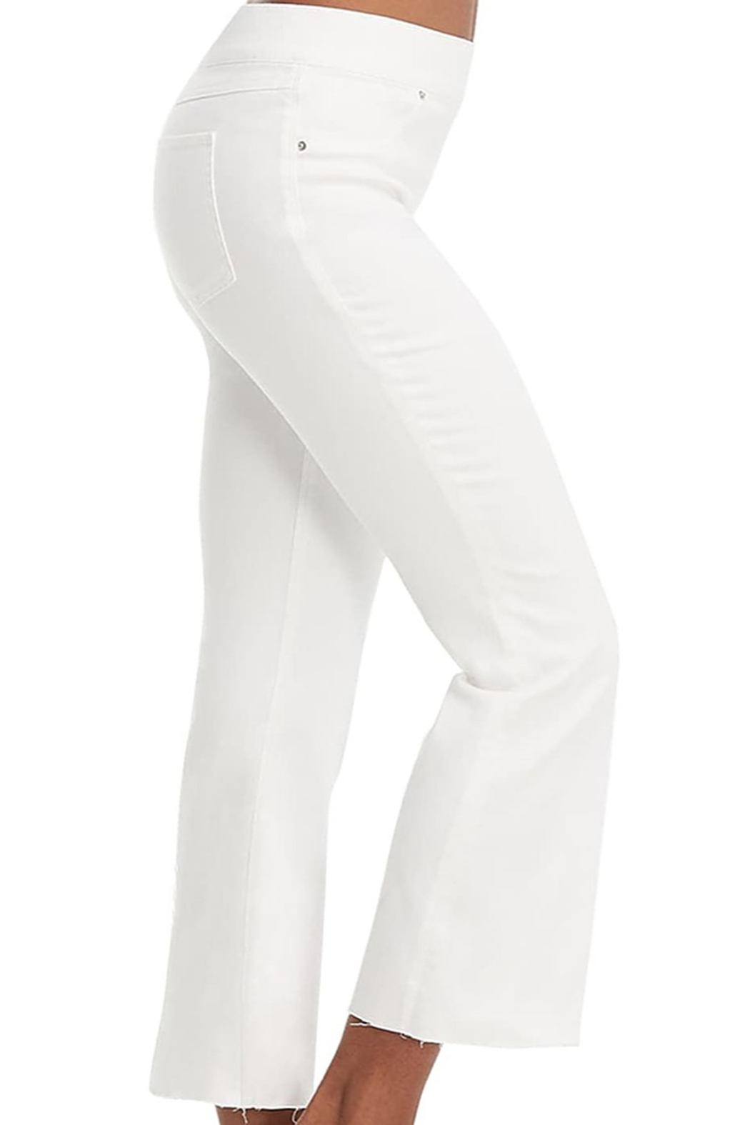 Spanx Cropped flare jean - Front Full Image