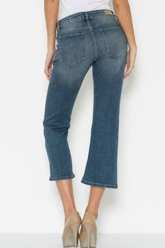 Poe and Arrows Cropped Flare Jeans - Alternate List Image