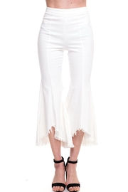 Jealous Tomato Cropped Flare Pants - Front cropped