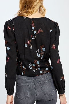 Gentle Fawn Cropped Floral Blouse - Alternate List Image