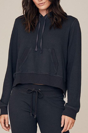 David Lerner CROPPED HOODIE W/ BACK ZIP - Product Mini Image