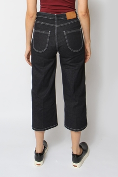 Acoté Cropped Indigo Jeans - Alternate List Image