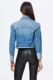 Paige Denim Cropped Jojo Jacket - Side cropped