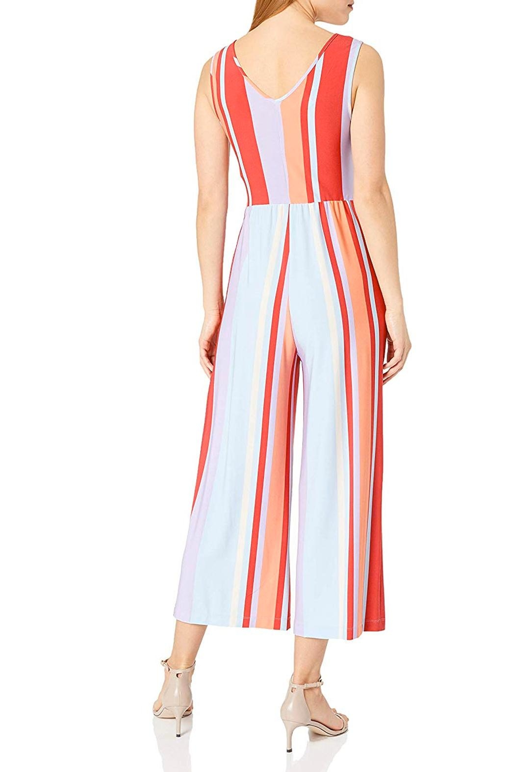 Donna Morgan Cropped Jumpsuit - Side Cropped Image