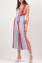 Donna Morgan Cropped Jumpsuit - Front cropped