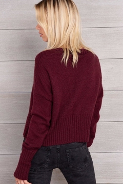 Wooden Ships Cropped Knit Cardigan - Alternate List Image
