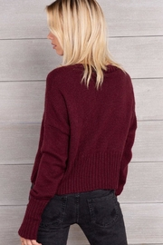 Wooden Ships Cropped Knit Cardigan - Front full body