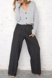 Wooden Ships Cropped Knit Cardigan - Product Mini Image