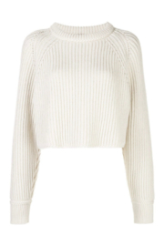 Proenza Schouler Cropped Knit Jumper - Product Mini Image